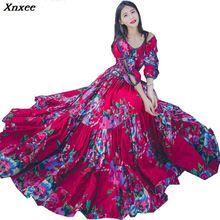 Buy big swing long maxi dress and get free shipping on AliExpress.com 43960e021