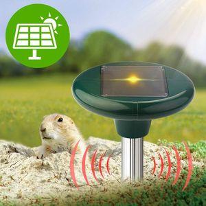 Image 5 - Mole Repeller Ultrasonic Solar Snake Gopher Repeller Mice Rats Rodent for Lawn Garden Yards 2 Pcs Eco Friendly Ultravioleta Sola