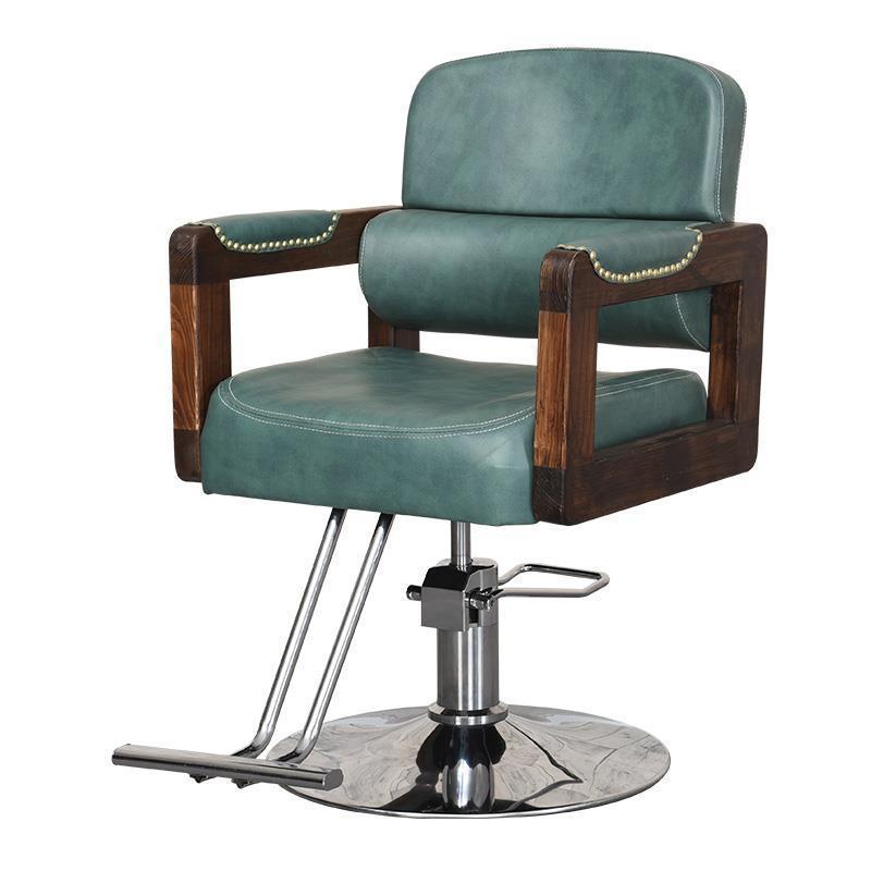 Image 2 - Sedie Cabeleireiro Stoel Cadeira De Barbeiro Stoelen Nail Furniture Kappersstoelen Silla Barbershop Salon Barbearia Barber Chair-in Barber Chairs from Furniture