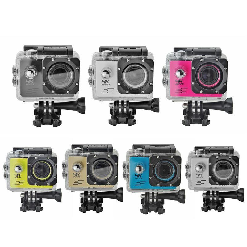 SJ8000B D'action Caméra 4 K WIFI 1080 P HD 16MP 4X Zoom Casque Cam 30 m Étanche Sport DV avec télécommande