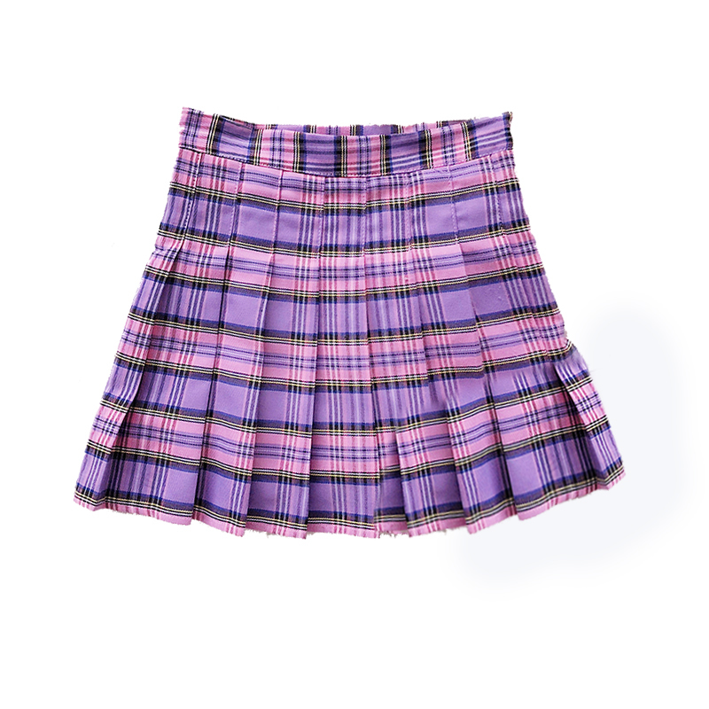 Hot Japanese Korean Version Short Skirts School Uniform Suit Jk Girl Pleated Skirt Spring And Summer kawaii Female Mini Skirts