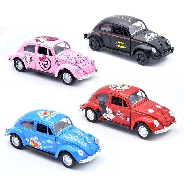 1:32 Alloy Diecast Retro Classic Car Model Mini Car Toys Table Decor Model 2010A For Kids Collection Toys Drop Shipping