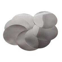 100 шт./компл. вина выливной носик для наливания диск в форме капель, единый заливки бар вечерние инструменты для свадьбы Серебро