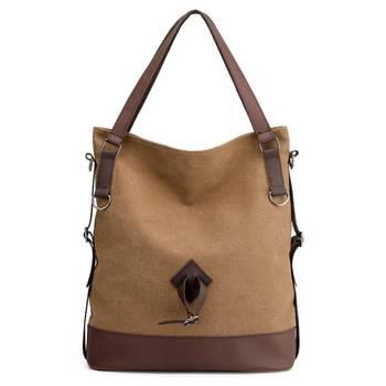 0b1d4f72c60b Повседневное сумки-шопперы для женщин Холст сумки классические простые  женские большой ёмкость сумка дизайнер Модная женская