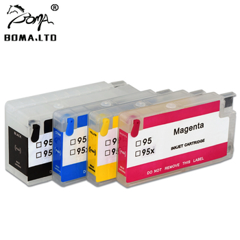 BOMA.LTD 952 953 954 955 952XL 953XL 954XL 955XL Ink Cartridge For HP OfficeJet 7740 7730 7720 8710 8715 8718 8719 8740 ARC Chip image