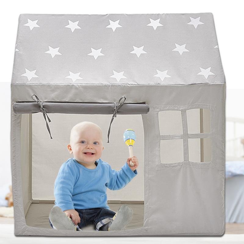INS Bébé ballons de plage Piscine lit de tente maison de jeu Tipi Rêve Princesse Tentes jouets d'intérieur Jeu Grande Maison Pour Enfants Lecture Coin