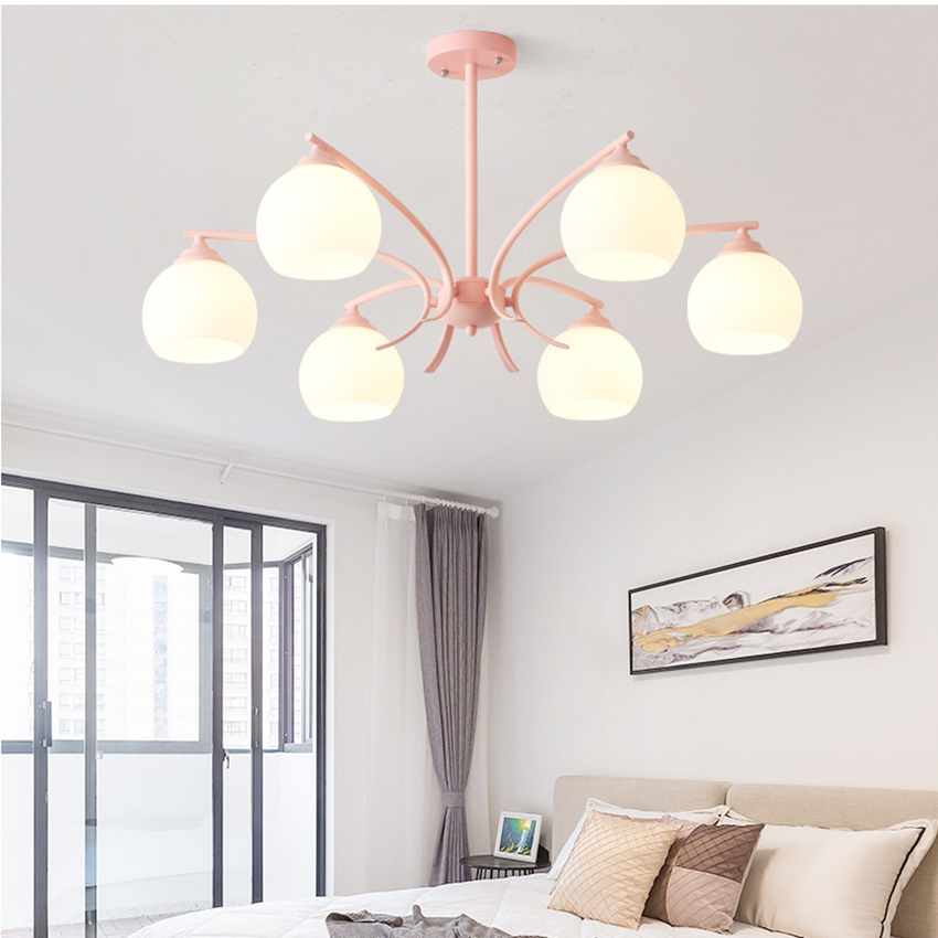 Modern LED Pendant Lights Simple Living Room Dining Room Bedroom LED Lighting Luminaria Hanging Lamp Kitchen Fixtures in Pendant Lights from Lights Lighting