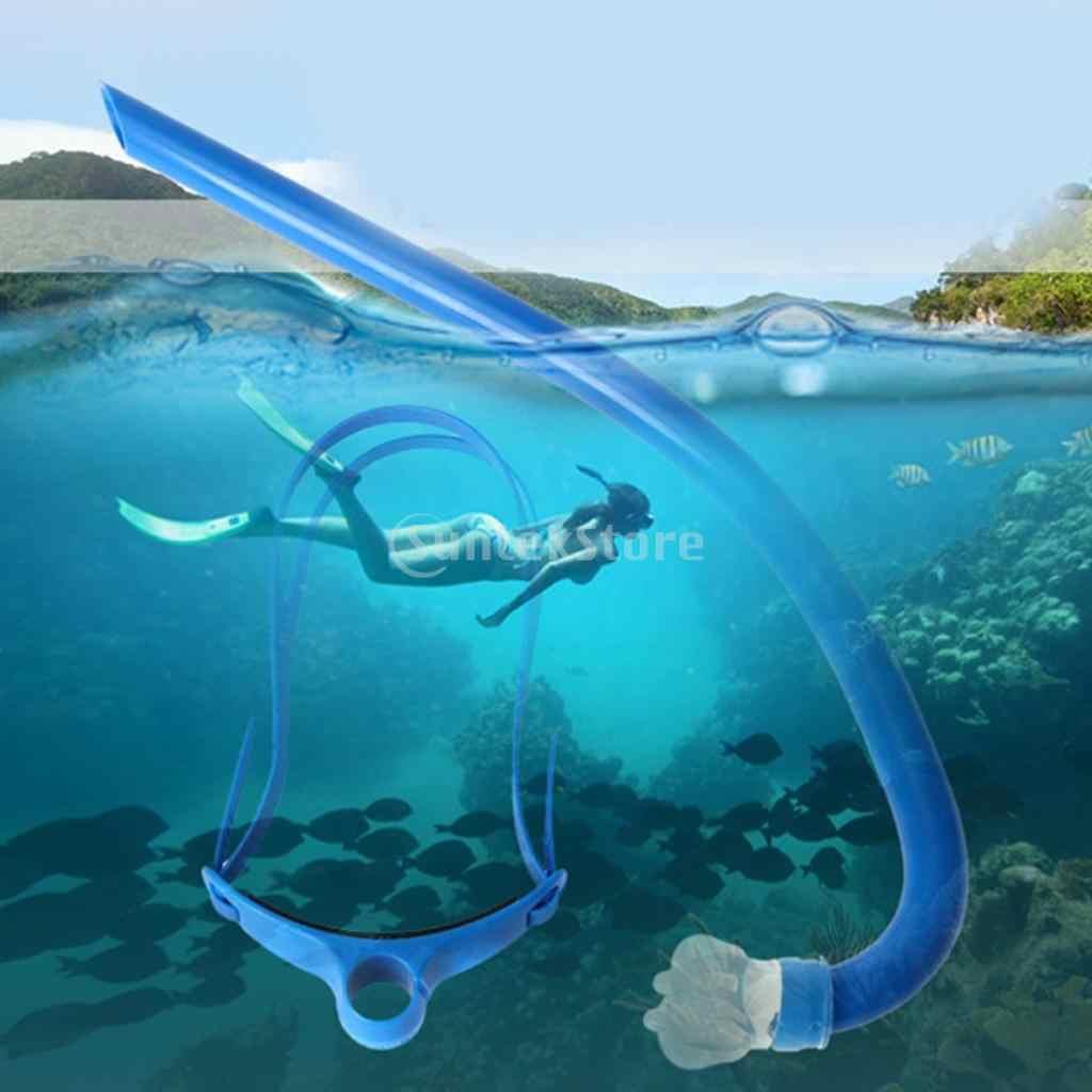 حرة السباحة التنفس مركز غص الغوص الغوص الهواء التنفس أنبوب سيليكون المعبرة تحت الماء اكسسوارات
