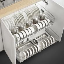 Drainer Organizador Cocina Alacena Organizar Organizer And Storage Stainless Steel Rack Cozinha Cuisine Kitchen Cabinet Basket