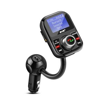 994bb0a9522 Coche Radio Digital DAB en coche transmisor FM manos libres Bluetooth Kit de  difusión Digital de Audio con cargador USB pantalla LCD