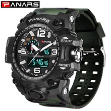 PANARS Camouflage Military Sport Watches For Men Analog Men Watch