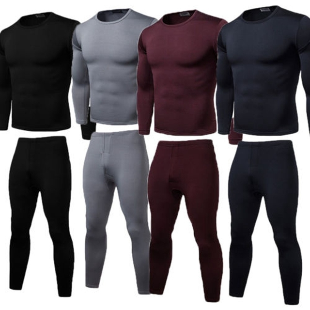 dd3b01ca Mens Boys Thermal Underwear Long Johns Thermal T Shirt Top Vest Bottoms  Trousers