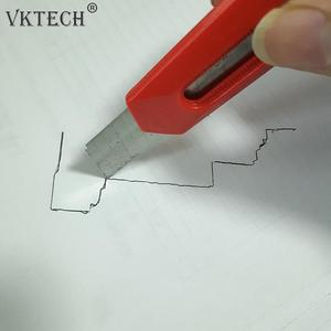 Image 4 - Plastic Irregular Shaper Profile Ruler Gauge Duplicator Contour Scale Template Curvature Scale Tiling Laminate General Tools