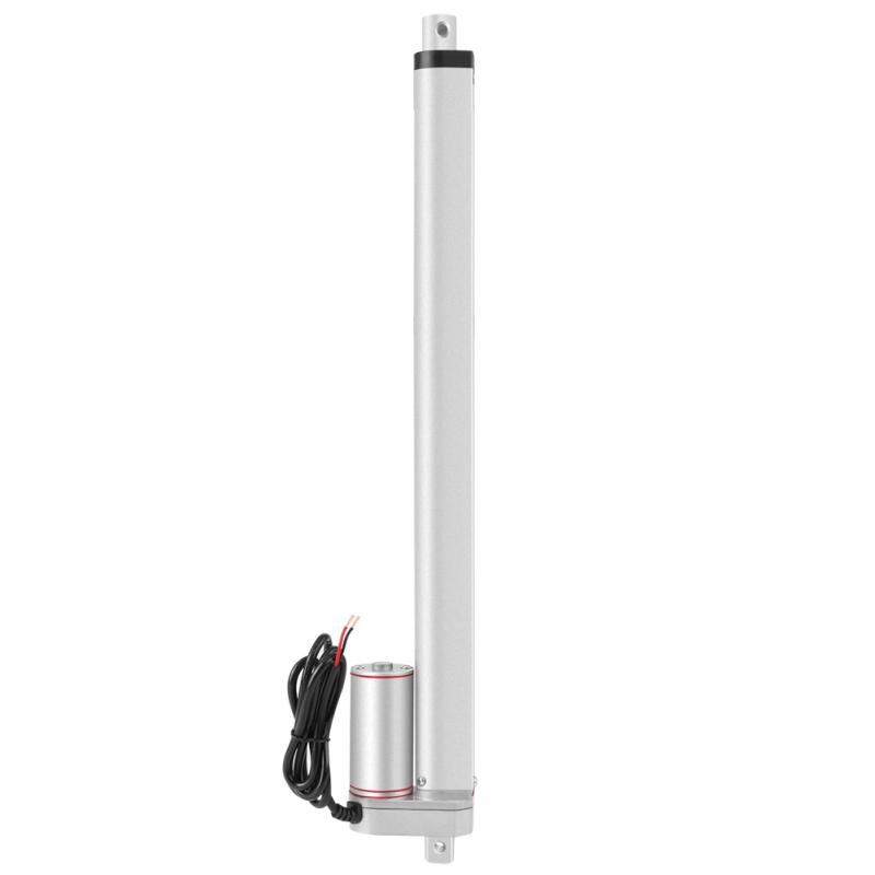 400mm DC 12V Linear Actuator DC Motor 500N Max Lift 400mm Stroke Electric Motor for Industrial