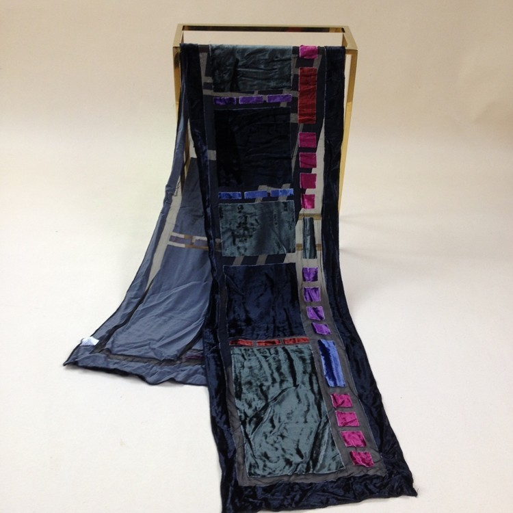 Velvet Silk Scarf Women Size:26*140cm Women Men #504