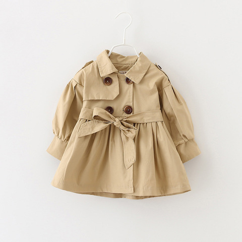 Baby Coats Newborn Baby Girl Clothes 2019 Autumn Bow Coat Infant Clothes For Children Outwear Baby Girls Fashion Winter Clothing Karachi