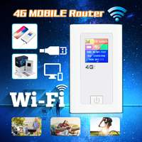 4g LTE WiFi Router Mini Modem 3G 4g FDD TDD Cat 4 150Mbps Wireless Broadband Portable Wi fi Mobile Hotspot