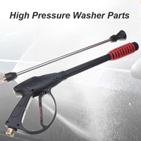 Extended High Pressure Car Washer Nozzle Cleaner Spray Horn High Pressure Washer For Car Cleaning Tool Snow Foam Lance