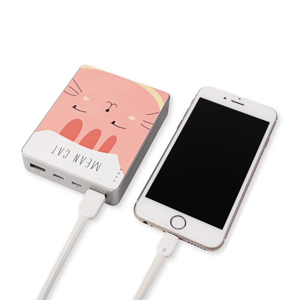 Frais de bande dessinée Mini Portable 1 1 Banque Puissance Bureau USB Sortie Multi 5 v 5A Mignon Extérieurs pour La Maison De Mode 9 v 2 DC12V 2A Manuel