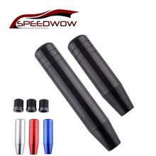 SPEEDWOW 13/18cm Universal Aluminum Gear Shift Knob Car Racing For Most Cars Shifter Knobs Colorful