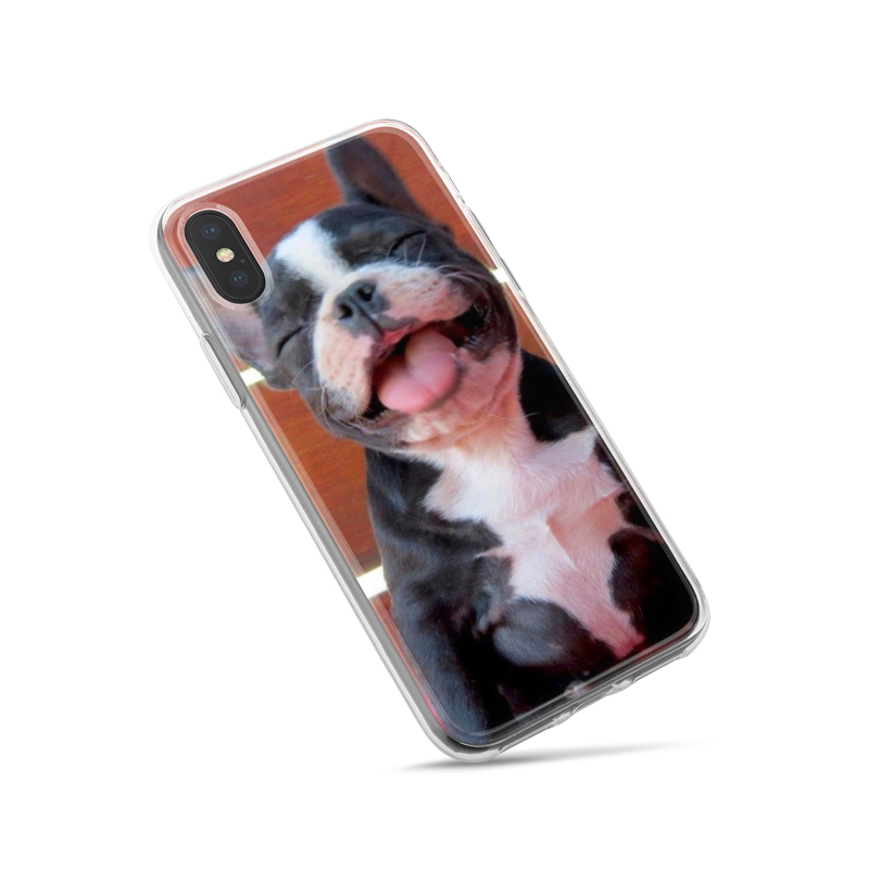 Buy Capa Boston Terrier Dog Clear Soft Silicone Phone Case for iPhone XS Max XR 7 8 6 6S Plus 5S 5 SE 5C 4S 4 iPod Touch 6 5 Cover. for only 4.98 USD