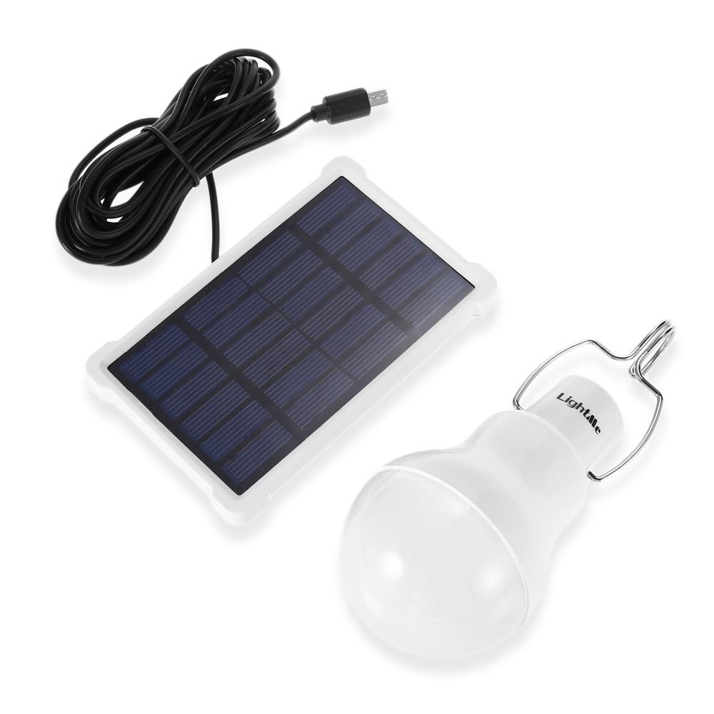 Billiger Preis Lightme S-1500 12 Led Glühbirne Tragbare Solar Powered Camping Lampe 1,5 Watt 5 V 140lm Outdoor Camping Zelt Notfall Licht Weniger Teuer Licht & Beleuchtung Solarlampen