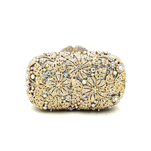 Women diamonds elegant crystal evening bag (14 colors)