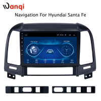 Android 8.1 Factory direct sales 9 inch Car Multimedia GPS Radio Stereo For Hyundai Santa Fe 2005 2012 Car Video Navigation