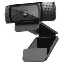 Logitech C920 веб-камера Full HD видео с разрешением 1080 P Запись камера с автофокусировкой CMOS 30FPS w/Mic для Windows 10/8/7 PS4 xbox
