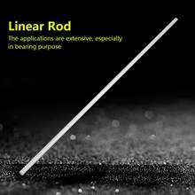 1Pc 8mm Diameter Linear Rod Stainless Steel Cylinder Rail Linear Shaft Straight Round Linear Bearing Rod 500mm Length(China)