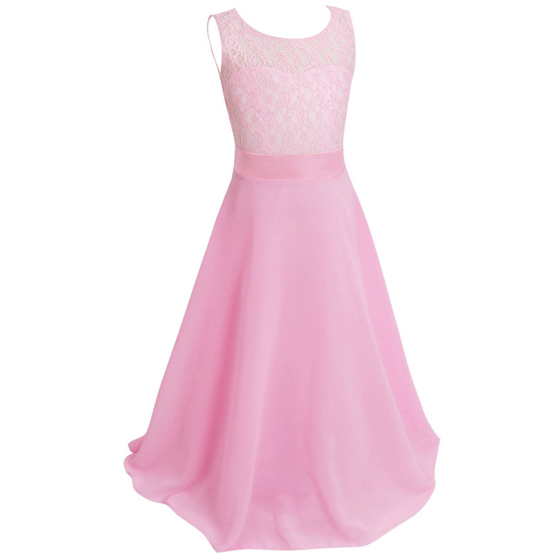 ace002 wholesale Europe and United States Wedding Gown Strapless Dress Children's Clothing Princess female costume Dress