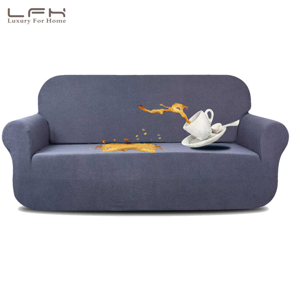 Pleasant Lfh Waterproof Sofa Cover Furniture Protector With Elastic Spiritservingveterans Wood Chair Design Ideas Spiritservingveteransorg