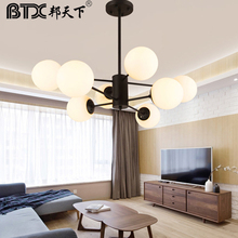 Nordic droplight individual character contracted and contemporary sitting room lamp bedroom lamp originality dining-room lamp eiceo crystal droplight contemporary contracted lamp bedroom lamps lanterns iron led droplight sitting room led pendant light