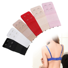 5 Colors 1Pcs Women Bra Strap Extender 2 Rows Hooks Extenders Clasp Sewing Tools Intimates Accessories Adjustable