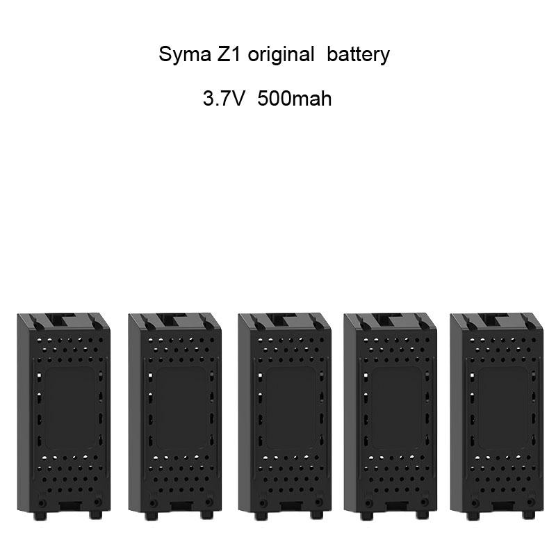 LeadingStar Large <font><b>Battery</b></font> RC Quadcopter Spare Parts Accessories <font><b>3.7V</b></font> <font><b>500mAh</b></font> <font><b>Battery</b></font> for SYMA Z1 image