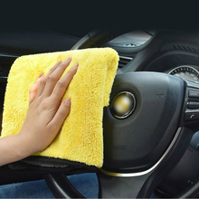 Hot Sale 30cm Car Paint Microfiber quick dry Towel Cleaning Finish Interior Strong Water Absorption Furniture Clean Multipurpose