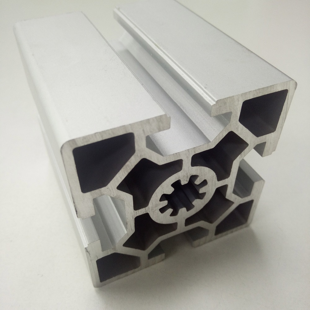 European Standard 6060 Aluminum Extrusion Profile / Industrial Aluminum Profile Workbench