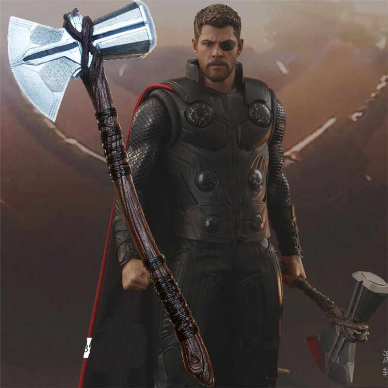 New Avengers 3 Cosplay Infinity Guerra Thor Stormbreaker Ascia Cosplay Avengers 3 Thor Ascia Puntelli Del Partito di Halloween