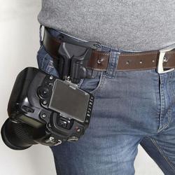 1Pc Camera Waist Belt Buckle Camera Quick Belt Buckle Holster Waist Mount Hanger Clip for Canon for Nikon for Sony Black  #2 6