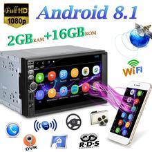 Android 8.1 Quad Core Car Stereo MP5 Player GPS Navi RDS AM FM Radio WiFi BT radio Bluetooth per Android accessori