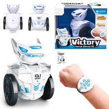 SUBOTECH BG1526 Watch Remote Intelligent Robot Smart Programing Education RC Robots 2.4G Control