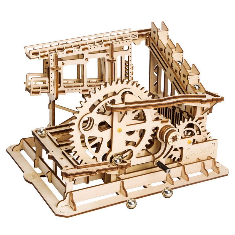 3D Puzzle Cog Coaster en bois infrarouge Ray coupe modèle outil mécanique Gear jouet bricolage enfants stéréo manuel assemblage