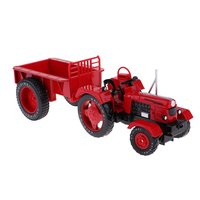 1/18 Alloy Simulation Vintage Farm Tractor Car Vehicle Model Educational Toys Birthday Gift for Children Kids Toddler
