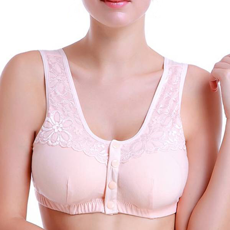 Sweet omen Bra Wireless Sexy Bralette Comfortable Solid Color Cotton Ladies Bra C Cup Brassiere Underwear For Women