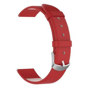 Image 5 - Wrist Belt Bracelet 20MM Genuine Leather Replacement Breathable Lightweight Durable Watch Band Straps Long Lasting For Garmin