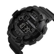 цена на SKMEI Men Military Sports Digital Watch 50M Waterproof Back Light Digital Watches Chronograph Shock Double Time Wristwatches