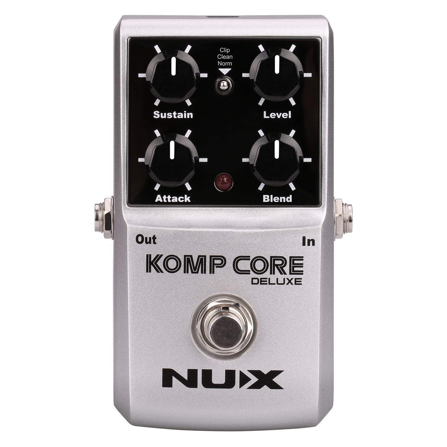 NUX Komp Core Deluxe Guitar Effects Pedal reduce the redundant dynamic ensure balanced Performance True bypassNUX Komp Core Deluxe Guitar Effects Pedal reduce the redundant dynamic ensure balanced Performance True bypass
