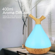 400Ml Branch Air Humidifier Sleeping Night Light Aroma Diffuser Ultrasonic Mute Essential Oil Purifier For Home Eu Plug