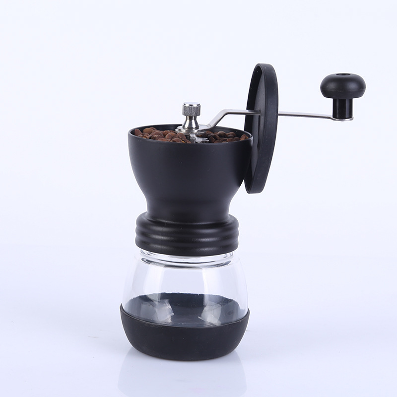 Manual Coffee Grinder Mini Kitchen Salt Pepper Grinder Powerful Beans Spices Nuts Seeds Coffee Bean Grind Machine