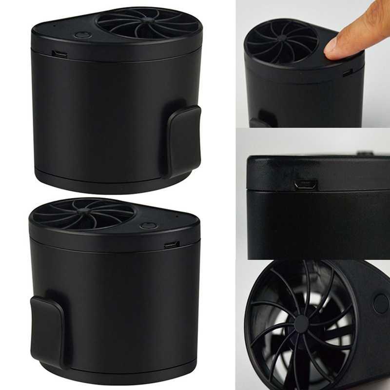 Портативный 3 Скорость вентилятор кондиционера для рабочего стола, свисает из АБС-пластика с карманами